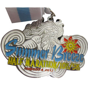 Chinese Factory Making Summer 5k 10k Marathon Running Medal (XDMD-05) pictures & photos