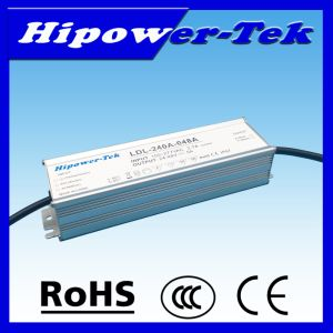 240W Waterproof IP67 Outdoor Timing Control Power Supply LED Driver pictures & photos