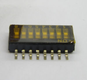 1.27mm Digital Switches 2p, 4p, 6p, 8p, 10p Available pictures & photos