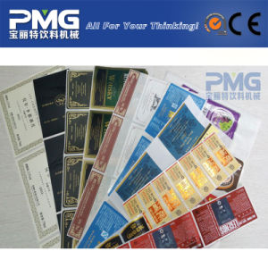 Good Quality Self Adhesive Sticker Label pictures & photos