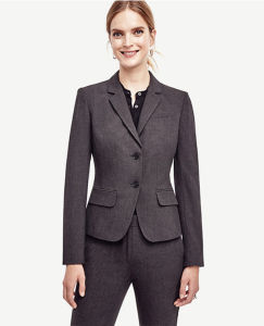 Custom Made Classic Office Lady Jacket Blazer pictures & photos