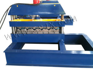 Hydraulic Curving Forming Machine with Two Feeding Stations pictures & photos