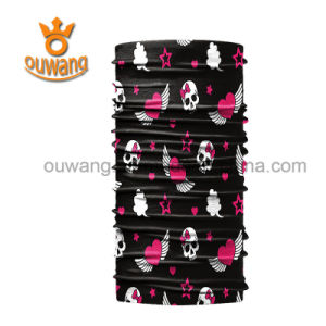 Outdoor Sports Motorcycle Seamless Polyester Scarf Bandana for Sale pictures & photos