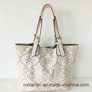 China Supplier Lady PU Laser Handbags with Bag Set (NMDK-051001) pictures & photos