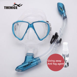 Thenice New Diving Mask Snorkeling Glasses Breathing Tube Silicone Scuba pictures & photos