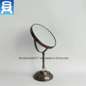 Top Performance Bathroom Copper Electroplating Cosmetic Makeup Mirror pictures & photos