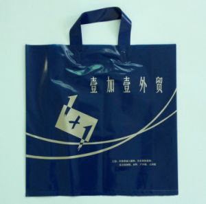 Eco-Friendly Biodegradable HDPE/LDPE Soft Shopping Carrying Flexi Loop Bag pictures & photos