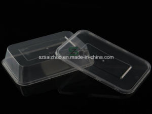 650ml Thicken Clear Plastic Disposable Food Container pictures & photos