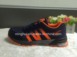 Mens Good Quality Mesh Lace up Sport Shoes pictures & photos