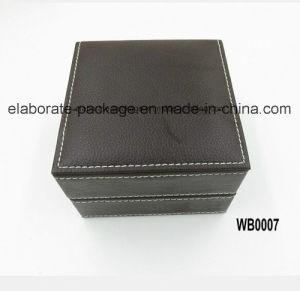 Luxury Style Wholesale Leather Wooden Box Jewelry Packing Box Jewelry Holder pictures & photos