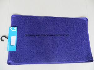 PVC Loofa Shower Rug Bathroom Mat pictures & photos