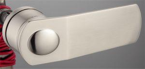 Hot Zinc Alloy Door Lock Handle (DZ-05107NS) pictures & photos