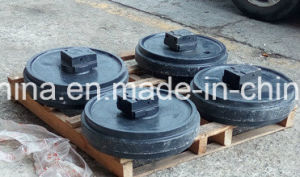 Excavator Front Idler Track Idler Assy pictures & photos