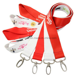 Custom Printed Advertisement Neck Polyester Nylon Ribbon pictures & photos