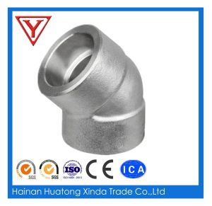 ASTM A105 45 Degree Socket Weld Forged Steel Elbow pictures & photos