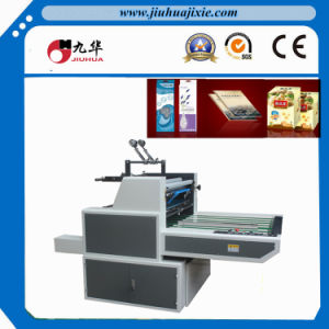 Water Based Cold Film Pacthing Machine for Window Box pictures & photos