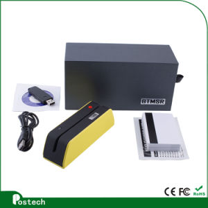 Bluetooth Magstripe Encoder  (Tracks 1, 2&3) Hico/Locousb/HID Cable Msrx6 Bluetooth pictures & photos