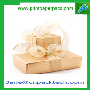 Fashion Ribbon Packing Cardboard Paper Cake Chocolate Jewelry Gift Box pictures & photos