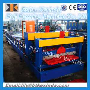 840 Roof Glazed Tile Making Machine pictures & photos