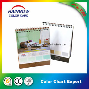 Promotional Customized Desk Calendar with Paint Color Card pictures & photos