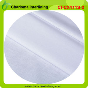 Polyester + Cotton Shirt Collar Fusing Interlining / Garment Accessories pictures & photos