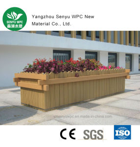 WPC Decking for Outdoor Flower Pot pictures & photos