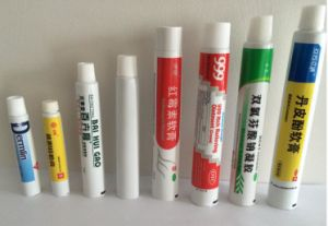 Pharmaceutical Package Medicine Cream Eye Ointment Toothpate Aluminum Plastic Laminated Tube pictures & photos