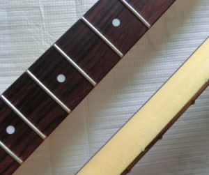 22 Fret Nitro Finished Rosewood Canadian Maple DIY Strat Guitar Neck pictures & photos