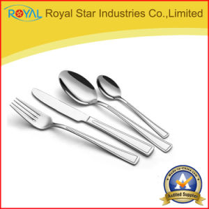 4 PCS Stainless Steel Knife Fork Spoon Set Cutlery Set