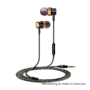 Wooden Unique in-Ear Earphone pictures & photos