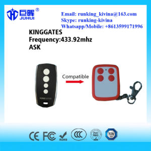 Compatible Kinggate Rolling Code Remote Control 433.92MHz pictures & photos
