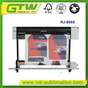 Mutoh Rj-900X Large Format Inkjet Printer for Digital Sublimation Printing pictures & photos