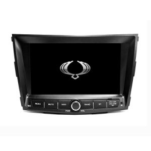 Wince 6.0 2 DIN Car DVD Player Amplifier for Ssangyong Tivolan 2014 with GPS Mirror Link TV pictures & photos