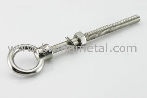 Stainless Steel Eye Bolt Metric Thread pictures & photos