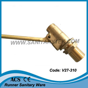 Brass Float Ball Valve (V27-310) pictures & photos