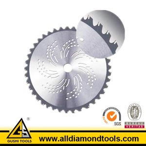 China Dry Use Tct Circular Saw Blade for Grass Cutting pictures & photos
