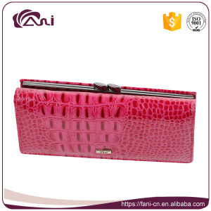 Fani High Quality Genuine Real Leather Wallet Purse for Ladies pictures & photos