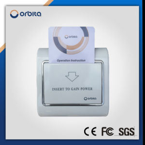 Access Control System Digital RFID Card Key Hotel Door Lock with Encoder Energy Saver Set pictures & photos