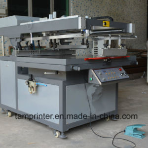 Tmp-6090 High Quality Oblique Arm Type Flat Screen Printer pictures & photos