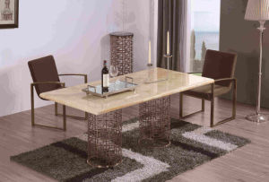 Morden Style Dining Table with Chairs pictures & photos