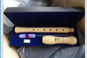 Solid Maple Wooden Soprano Recorder Flute Wholesale Price pictures & photos