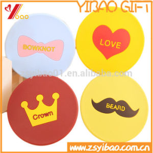 Factory Hot Sell Rotating Silicone Pocket Mirrors Cosmetic Mirror pictures & photos