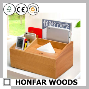 Multifunctional Solid Wooden Storage Box for Hotel Decoration pictures & photos