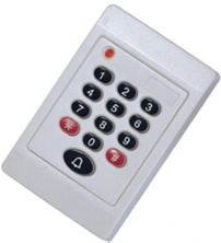 Waterproof Plastic Em/MIFARE RFID Passive Access Control Door Card Reader pictures & photos