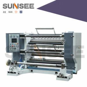 Vertical Type Plastic/Paper Film Slitting Machine pictures & photos
