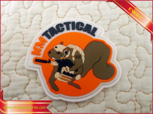 Clothing Rubber Badge Customized Rubber Logo Badge pictures & photos