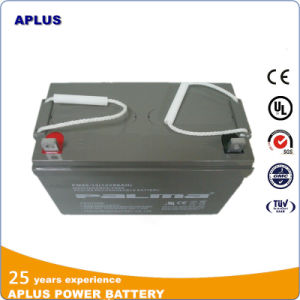 12V Sealed Medium Size VRLA Batteries 80ah for Railway Engine pictures & photos