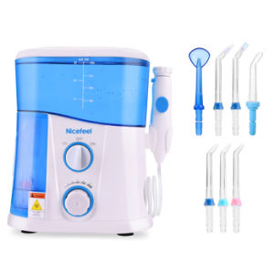 Dental Flosser with UV Disinfection Water Jet Teeth Cleaner Kits pictures & photos