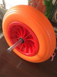Maxtop Quality PU Foam Wheel pictures & photos