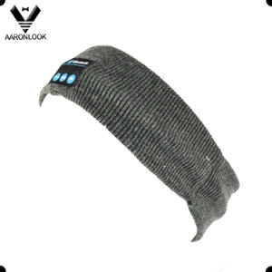 Winter Warm Acrylic Knit Bluetooth Sport Music Headband pictures & photos